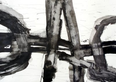 Untitled / china ink on paper / 70 × 100 cm / 2006