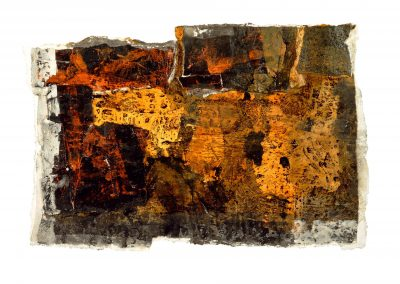Untitled (No 2004-136) / mixed technique on paper / 23 × 34 cm / 2004