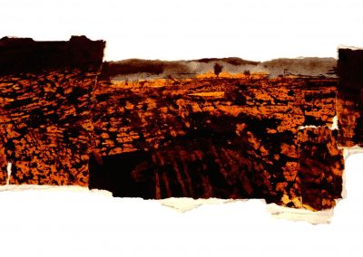 Untitled (No 2004-138) / mixed technique on paper / 14,5 × 31 cm / 2004